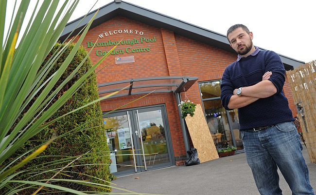 'Unbelievable' THIRD raid on Wirral charity garden centre