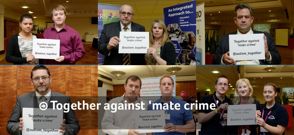 We stand together against 'mate crime'