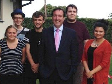 Life and Social Skills students visited by MP