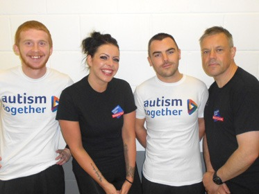 Cheshire Oaks staff go the extra mile for charity Autism Together