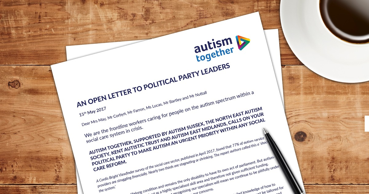 An Open Letter to Political Party Leaders