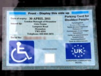 Blue badge life-changing
