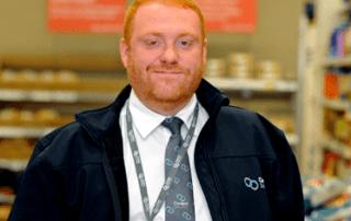 James Larkman, Tesco security guard