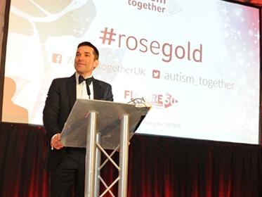 Robin Bush - Rose Gold Gala Ball