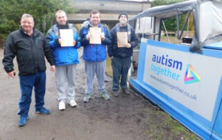 National Navigation Award success for service users