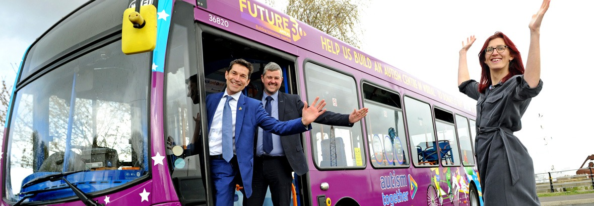 Beep beep! Autism Together launches bespoke Stagecoach bus in Wirral