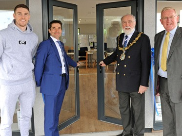 Grand opening of a new heritage centre at Port Sunlight River Park