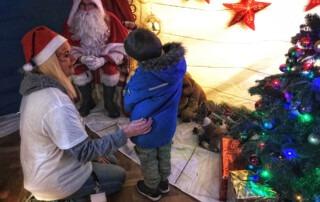 Father Christmas' grotto