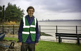 Port Sunlight River Park Ranger Andrew Jennings-Giles