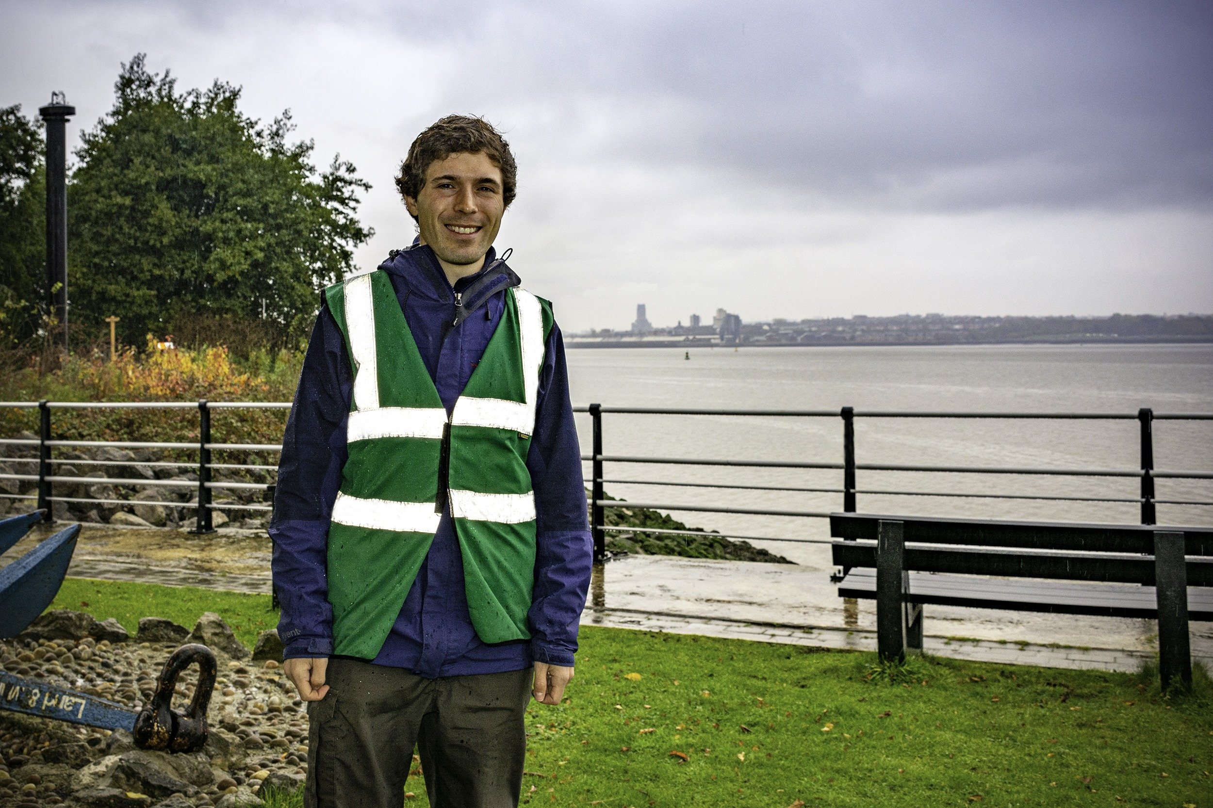 Port Sunlight River Park Ranger Andrew Jennings-Giles