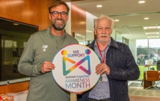 Jurgen Klopp lends his support to Autism Together Awareness Month