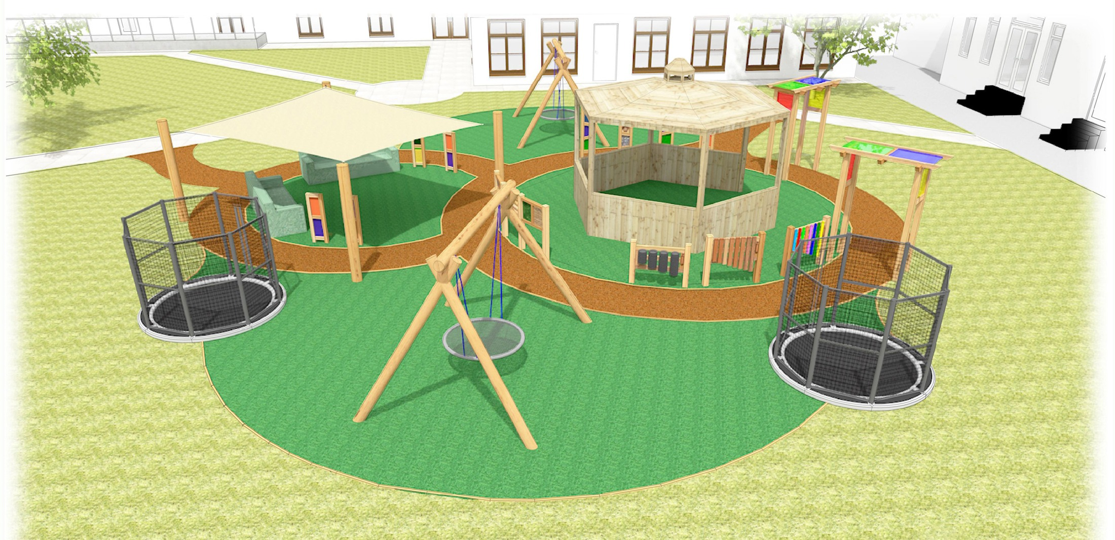 Sensory Garden plans for Raby Hall