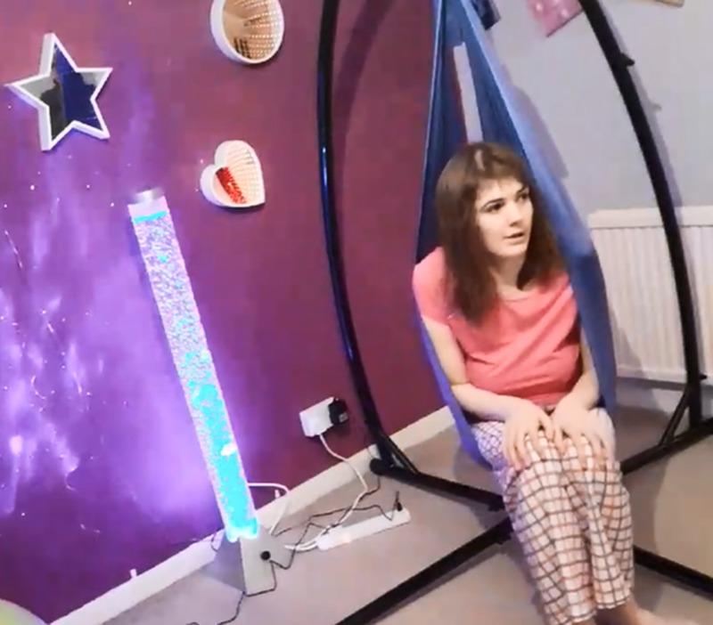 Imogen's sensory room