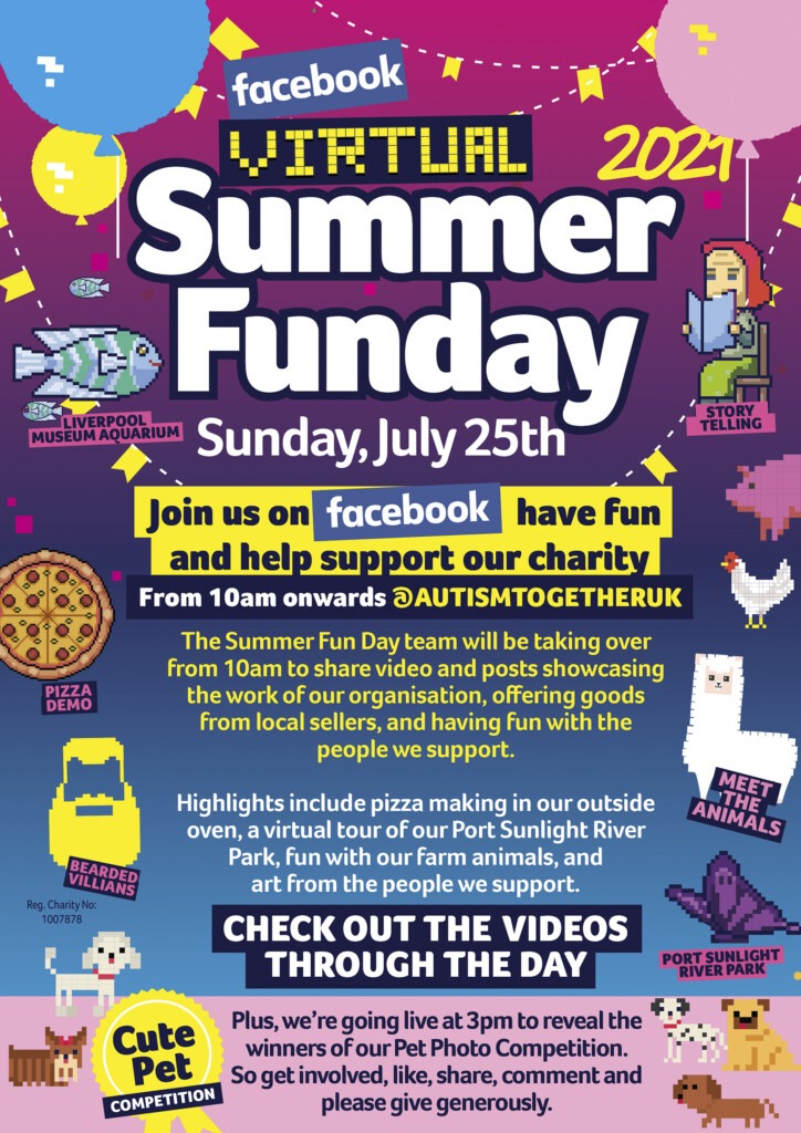 Virtual Summer Fun Day poster