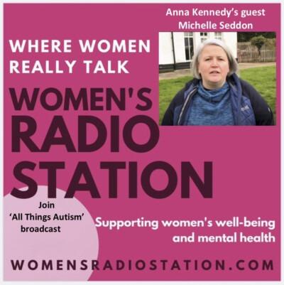 Michelle Seddon interviewed on Women's Radio Station